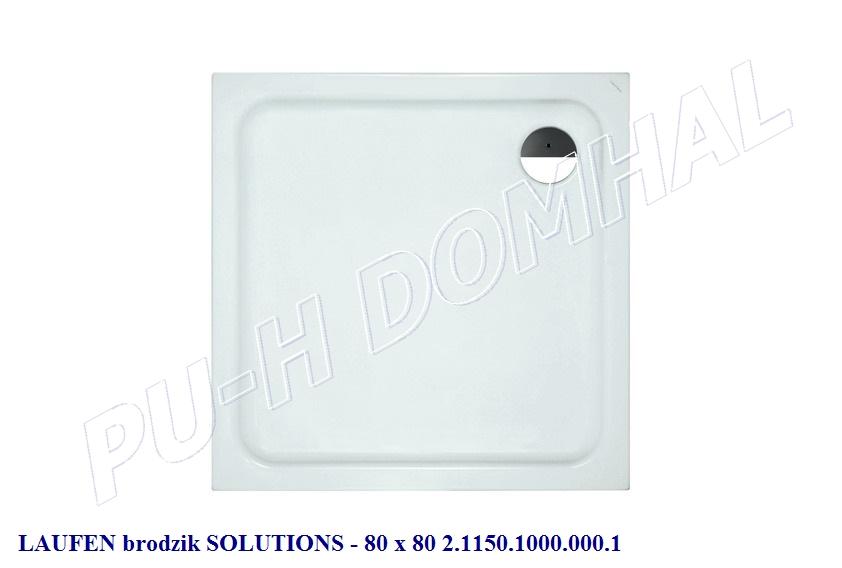 laufen brodzik  solutions 80 x 80 2.1150.1.000.000.1