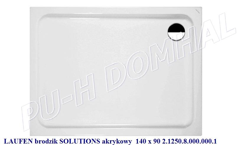 laufen brodzik solutions-140x90 akryl 2.1250.8.000.000.1